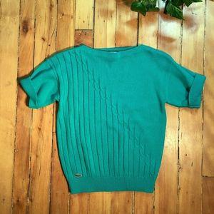 Izod Sweaters - Izod Lacoste Shamrock Green Sweater